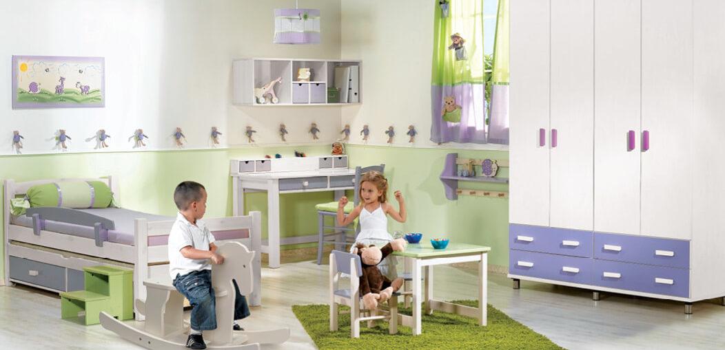 טקסטיל מומלץ לחדר ילדים